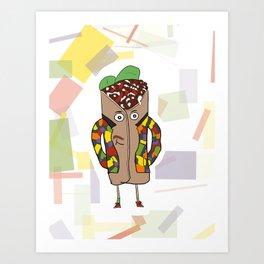 Fresh Prince of Donair Art Print