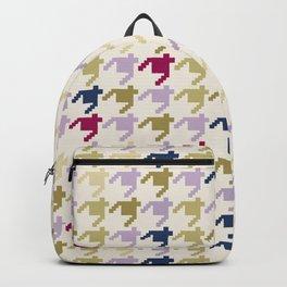 AFE Houndstooth Pattern Backpack