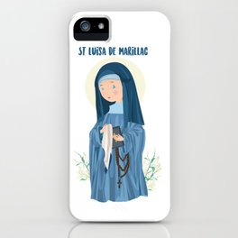 Saint Luisa of Marillac iPhone Case