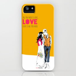 All you need iPhone Case