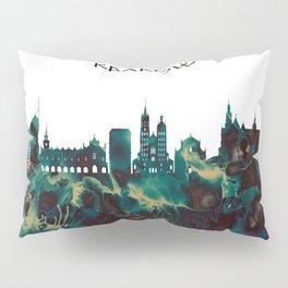 Krakow Skyline Pillow Sham