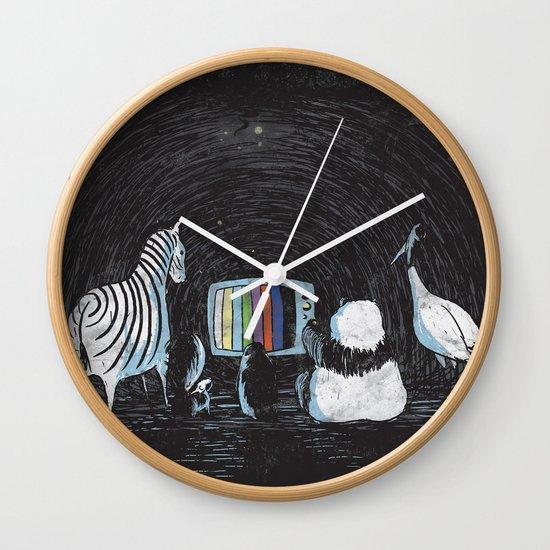 Now in Technicolour... Wall Clock