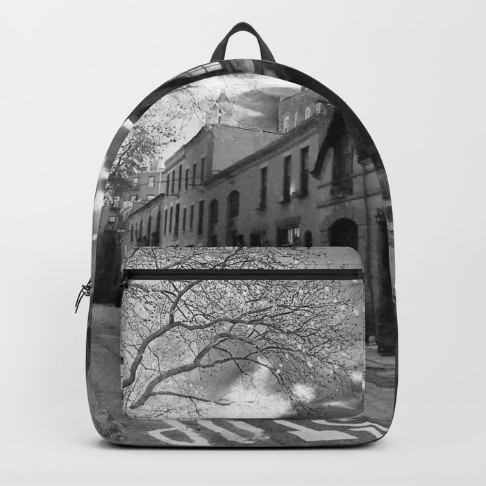 STOP For Brooklyn Heights Brownstone Love NYC Backpack