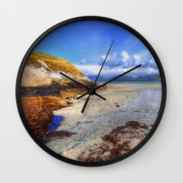 Horgabost, Isle Of Harris Wall Clock