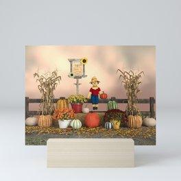 Happy Harvest Mini Art Print