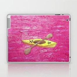 Yellow Kayak Laptop & iPad Skin