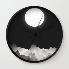 The Opportunist Wall Clock