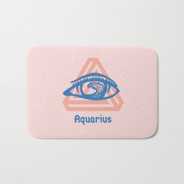 Aquarius Bath Mat