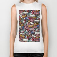 country Biker Tanks featuring country plates by Eduardo Doreni