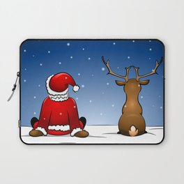 waiting for christmas Laptop Sleeve