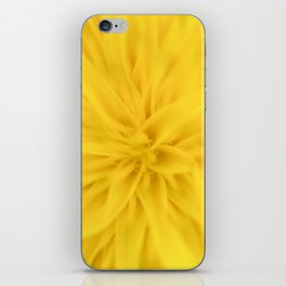 Sunny yellow spring iPhone Skin