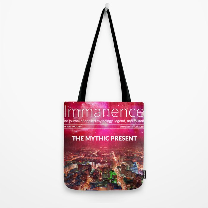Immanence Journal Tote Bag Tote Bag