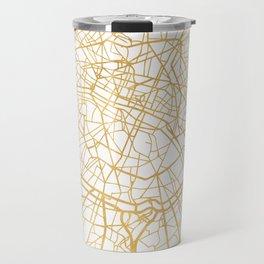PARIS FRANCE CITY STREET MAP ART Travel Mug