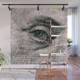 Geometric Eye Wall Mural