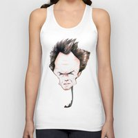 clint eastwood Tank Tops featuring Clint Eastwood by Diego Abelenda
