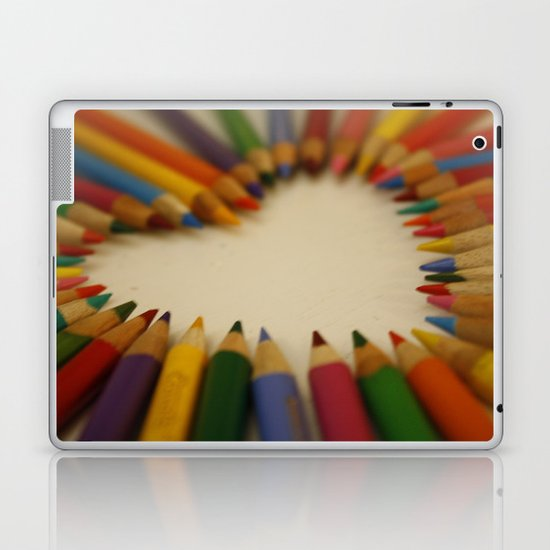 you color my world  Laptop & iPad Skin