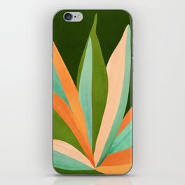 Colorful Agave / Painted Cactus Illustration iPhone Skin