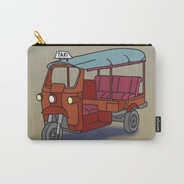 Red tuktuk / autorickshaw Carry-All Pouch