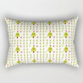 Christmas tree 4 Rectangular Pillow