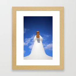 The Big Duck Framed Art Print
