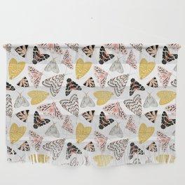 Moth's Diverse Beauty Pattern Wall Hanging