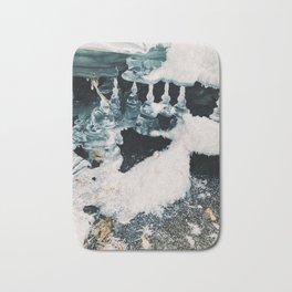 Frozen drips Bath Mat