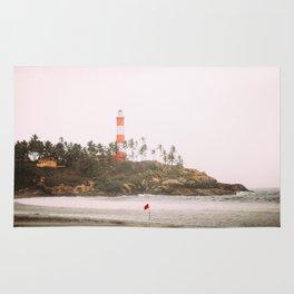 Lighthouse in Varkala Rug
