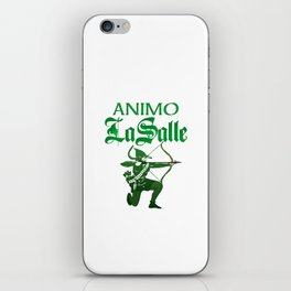 Animo La Salle Art iPhone Skin