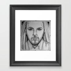 Tim Minchin(llustration) Framed Art Print
