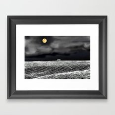 Feeling Lonely Framed Art Print
