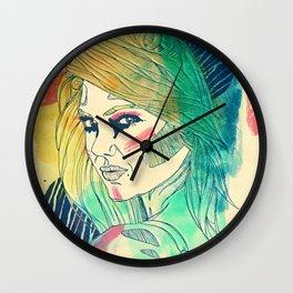 Woman #04 Wall Clock