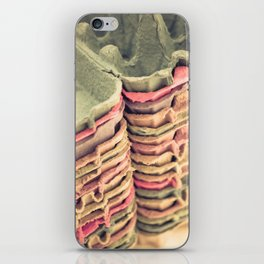 Colorful Egg Cartons iPhone Skin