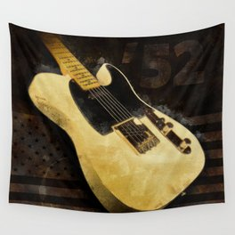 My AMERICAN VINTAGE '52 TELECASTER Wall Tapestry