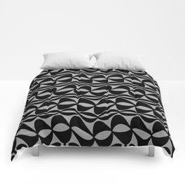 Black Wobble Comforters
