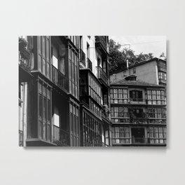 Casco Viejo de Bilbao  Metal Print