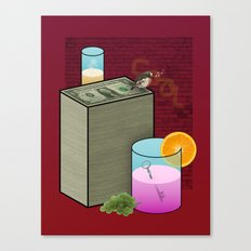 Fun and Cool and Interesting and Friendly Canvas Print