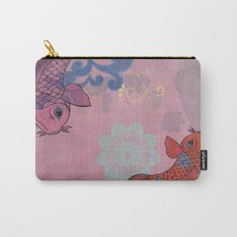 Japanese Koi (Collage) Carry-All Pouch