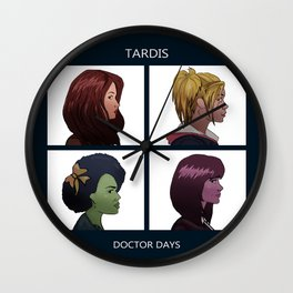 Doctor Days Wall Clock
