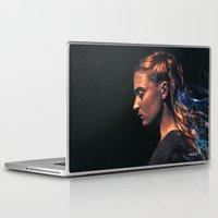 sansa stark Laptop & iPad Skins featuring Amethyst by Alice X. Zhang
