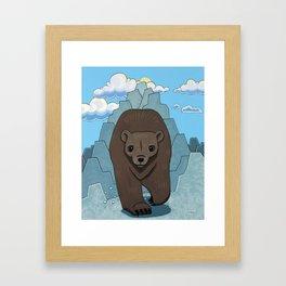Bear Run Framed Art Print