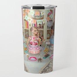 60th Barbie's birthday Travel Mug