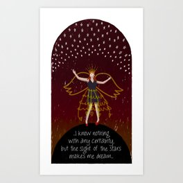 Star Dreaming Art Print