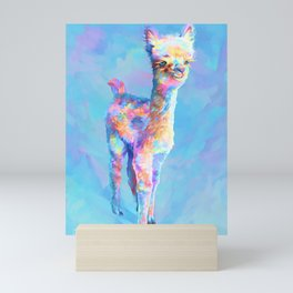 Rainbow Cria Mini Art Print