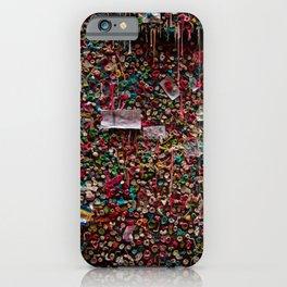 Gum Wall - Seattle, WA iPhone Case