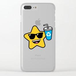 Super Star Clear iPhone Case