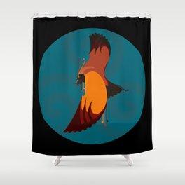 Haast Eagle Shower Curtain