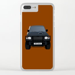 Let's Off - Road! Clear iPhone Case