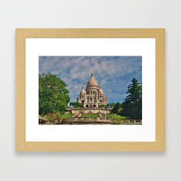 Le Sacre Coeur, Paris Framed Art Print
