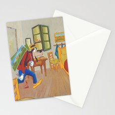 Goofy as Vincent Stationery Cards