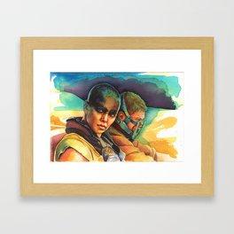 Fury Road Framed Art Print